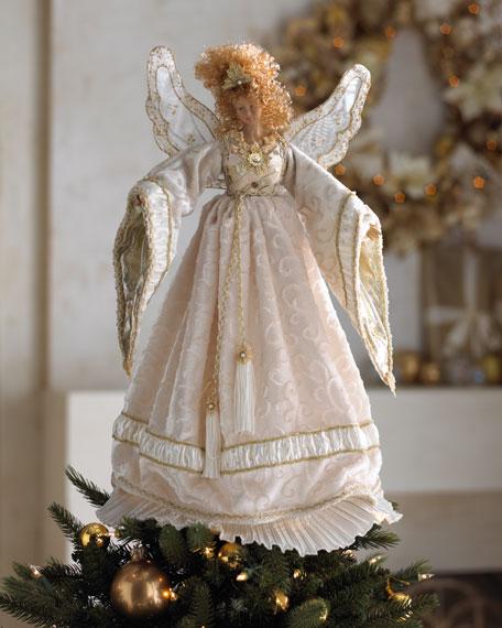"""Bianca"" Angel Tree Topper"
