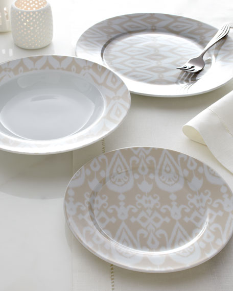 "12-Piece ""Ikat"" Dinnerware"