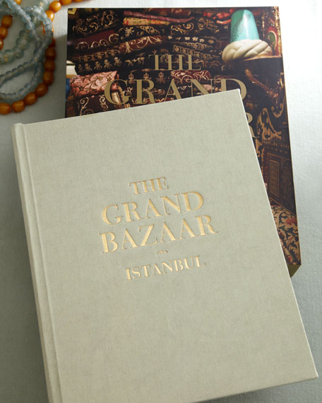 """The Grand Bazaar Istanbul"" Hardcover Book"