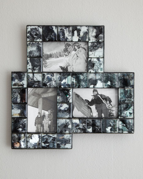 """Antique Mirror"" Collage Frame"