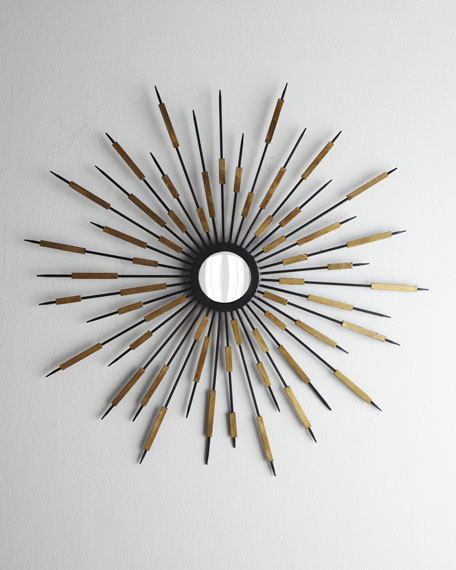 """Zenith"" Accent Mirror"