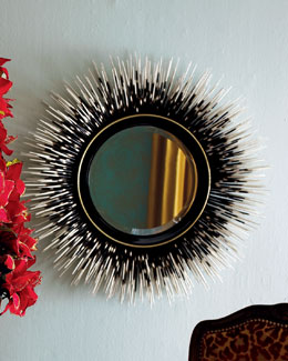"Janice Minor ""Porcupine Quill"" Mirror"