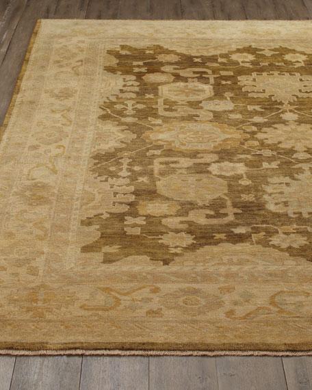 Exquisite Rugs Mocha Oushak Rug, 8' x 10'