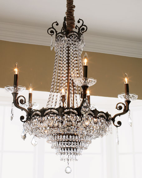 Alexandria 13 light chandelier