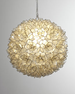 Robles Heritage Capiz-Shell Pendant Light