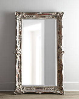 "Bassett Mirror, Inc. ""Antique French"" Floor Mirror"