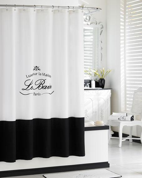 """""""Le Bain"""" Shower Curtain"""