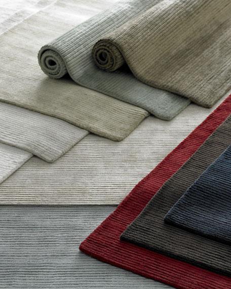 Textured Lines Rug, 8' x 10'