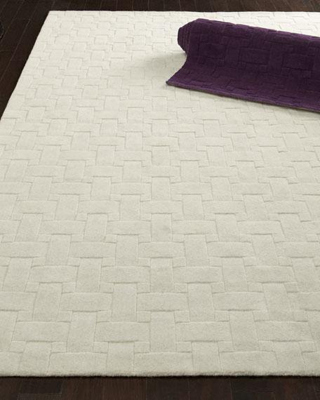Woven Textures Rug, 5' x 8'