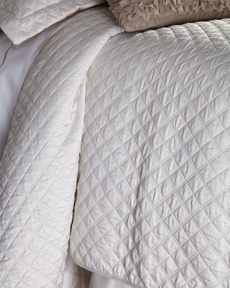 Queen Jackie Quilted Coverlet