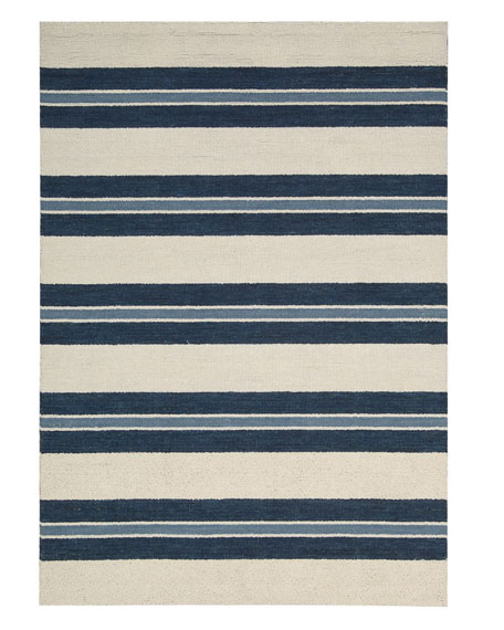 "Harbour Stripe Rug, 5'3"" x 7'5"""