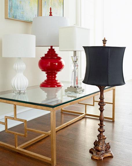 Red Burma Lamp