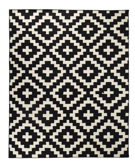 Aztec Chama Flatweave Rug, 5' x 8'