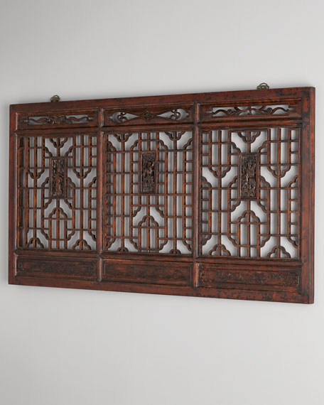 Antique Wood Paneling For Walls: Antique Wooden Wall Panel