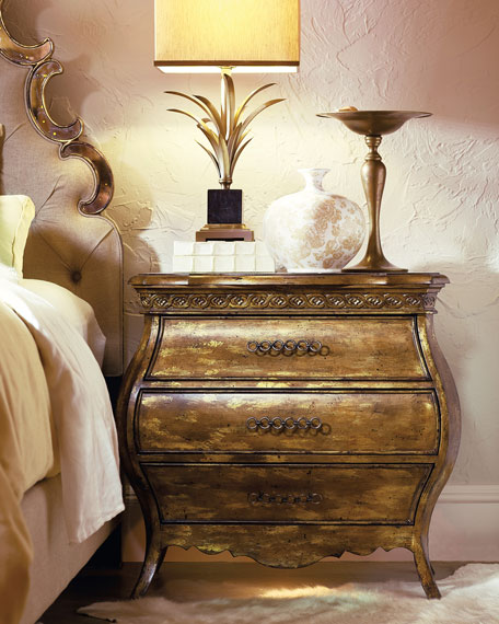 Bristol Small Bombe Nightstand