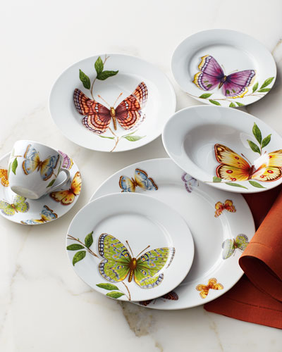20-Piece Butterfly Dinnerware Service