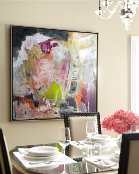"""Whippoorwill"" Abstract Giclee on Canvas Wall Art"