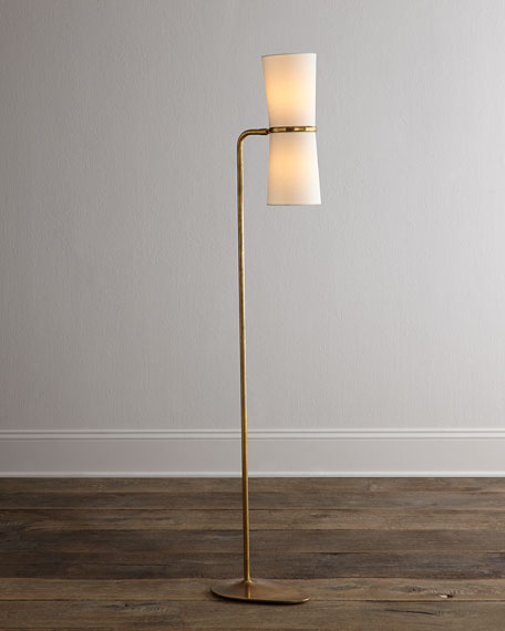 Aerin Clarkson Brass Floor Lamp