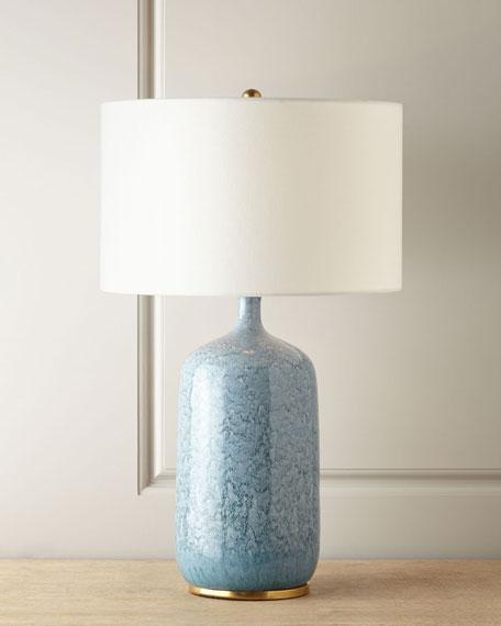 Culloden Blue Lagoon Table Lamp