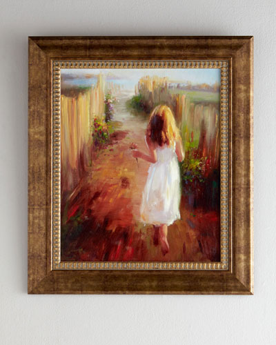Summer Stroll Giclee on Canvas Wall Art