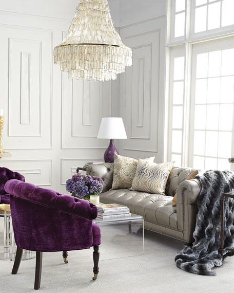 Purple Sausalito Chair