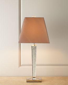 Antiqued Mirror Table Lamp