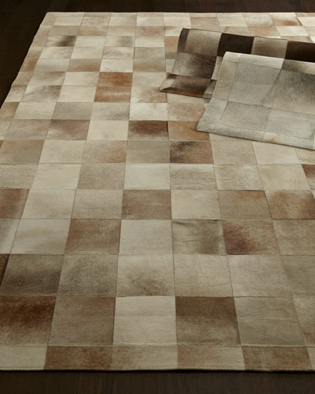 Exquisite Rugs Winslow Hide Blocks Rug, 8' x