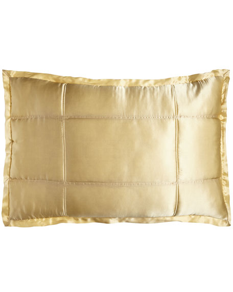 Reflection Standard Quilted Silk Sham