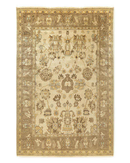 Exquisite Rugs Kersey Oushak Rug, 6' x 9'