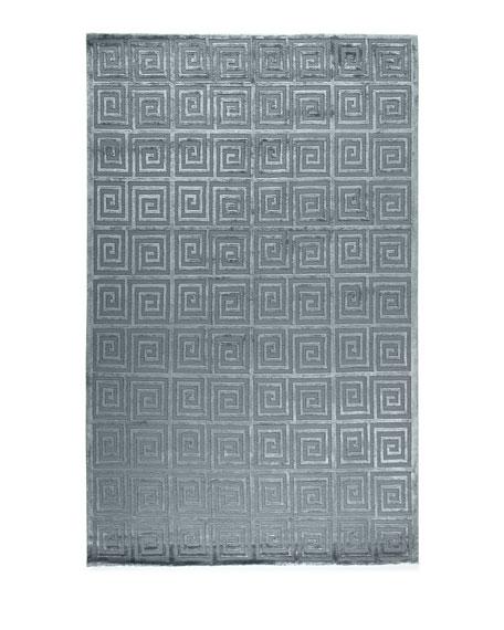 Diona Greek Key Rug, 10' x 14'