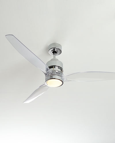 Ceiling fans outdoor indoor ceiling fans at neiman marcus horchow 52 sonet chrome ceiling fan aloadofball Choice Image