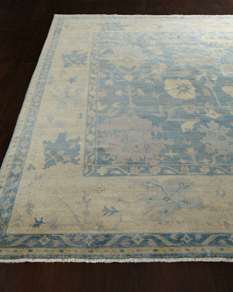 Exquisite Rugs Blue Sage Rug, 9' x 12'