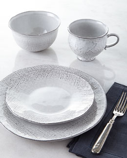 16-Piece Jute Countryside Dinnerware Service