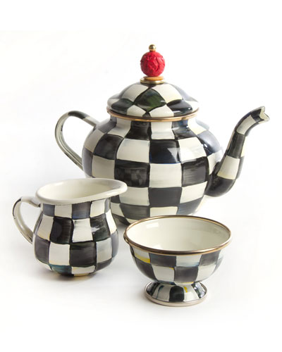 Courtly Check Teapot Set