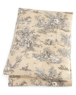 Queen Toile Duvet Cover, 90