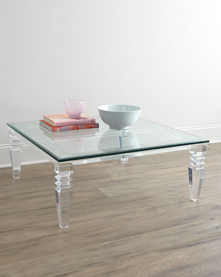 Interlude Home Christelle Acrylic Coffee Table