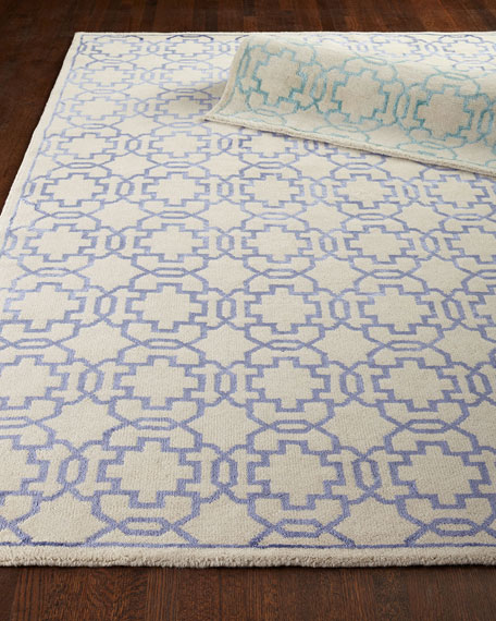 Bloom Lace Rug, 9' x 12'