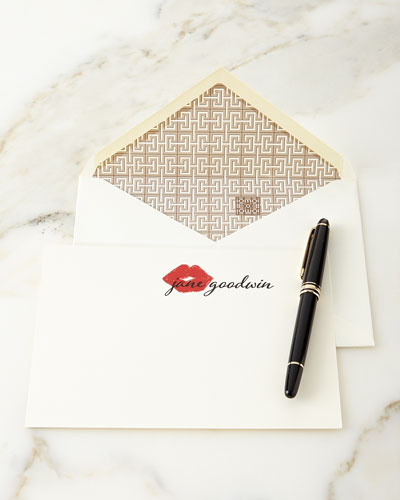 XOXO Personalized Notecards