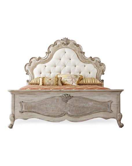 Estelline Upholstered King Bed