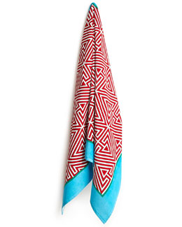 Triangles Beach Towel