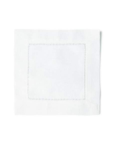 Boutross Imports 12 Hemstitch Cocktail Napkins