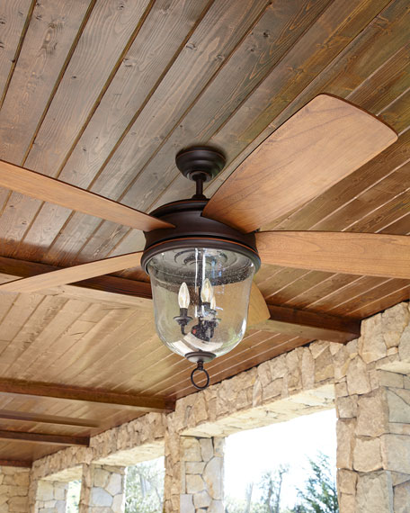 Fredericksburg Indoor Outdoor Ceiling Fan