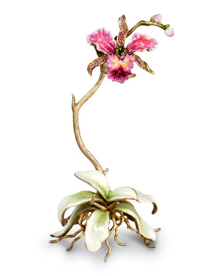 Jay Strongwater Orchid Objet