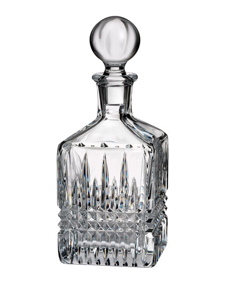 Lismore Diamond Square Decanter