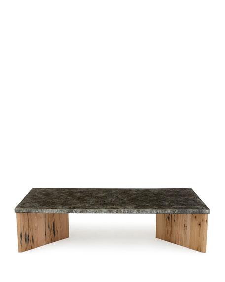 Alva Zinc Coffee Table