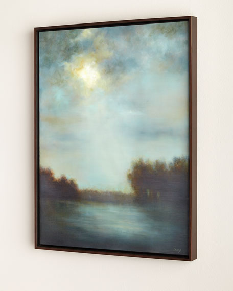 """Breaking Light"" Giclee on Canvas Wall Art"