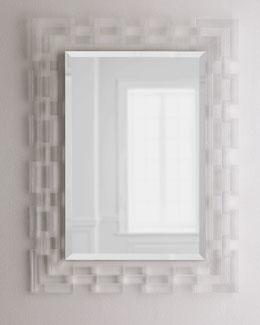 Lachlan Lucite-Frame Mirror