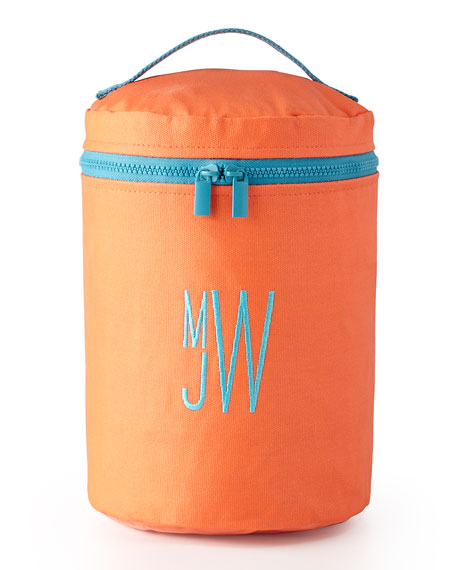 Monogrammed Vertical Essentials Travel Bag