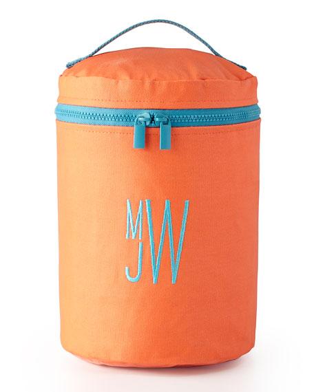 Monogrammed Vertical Essentials Travel Bag