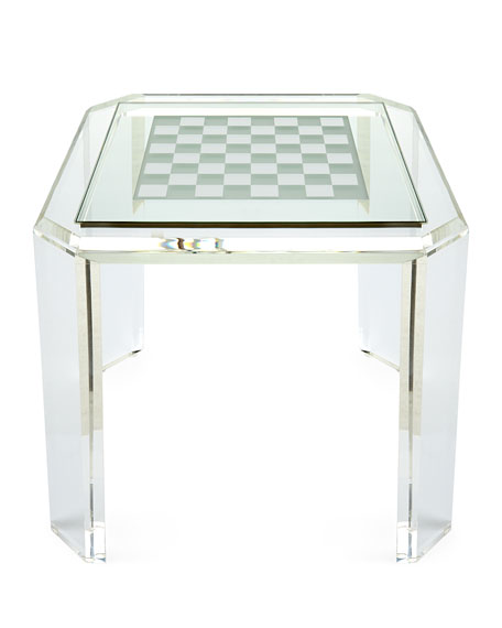 Miranda Acrylic Game Table
